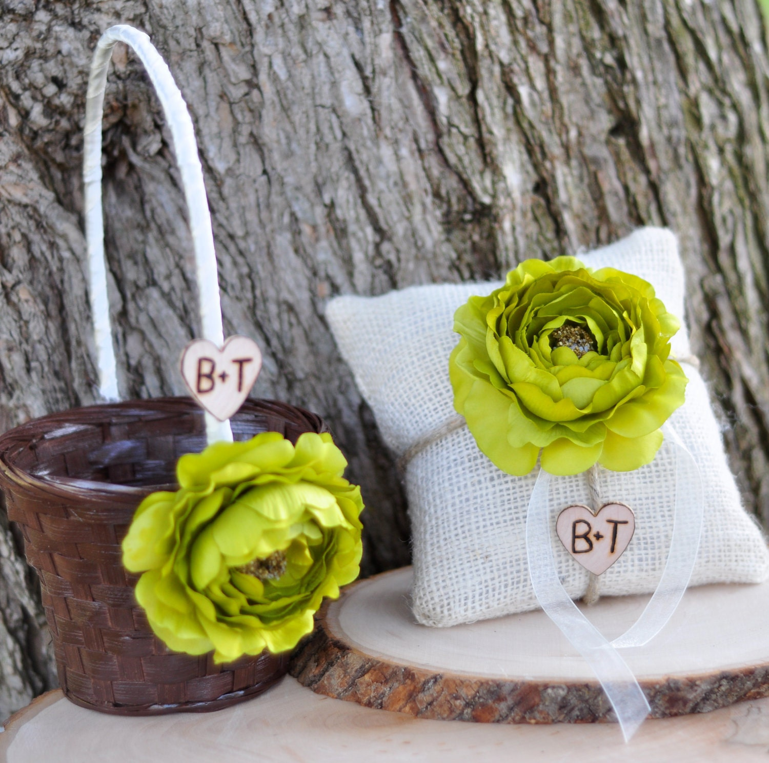 Flower Girl Baskets Small : Personalized small flower girl basket and by happiestcreations