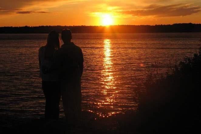 Enjoying the Sunset  5 x 7 Photograph