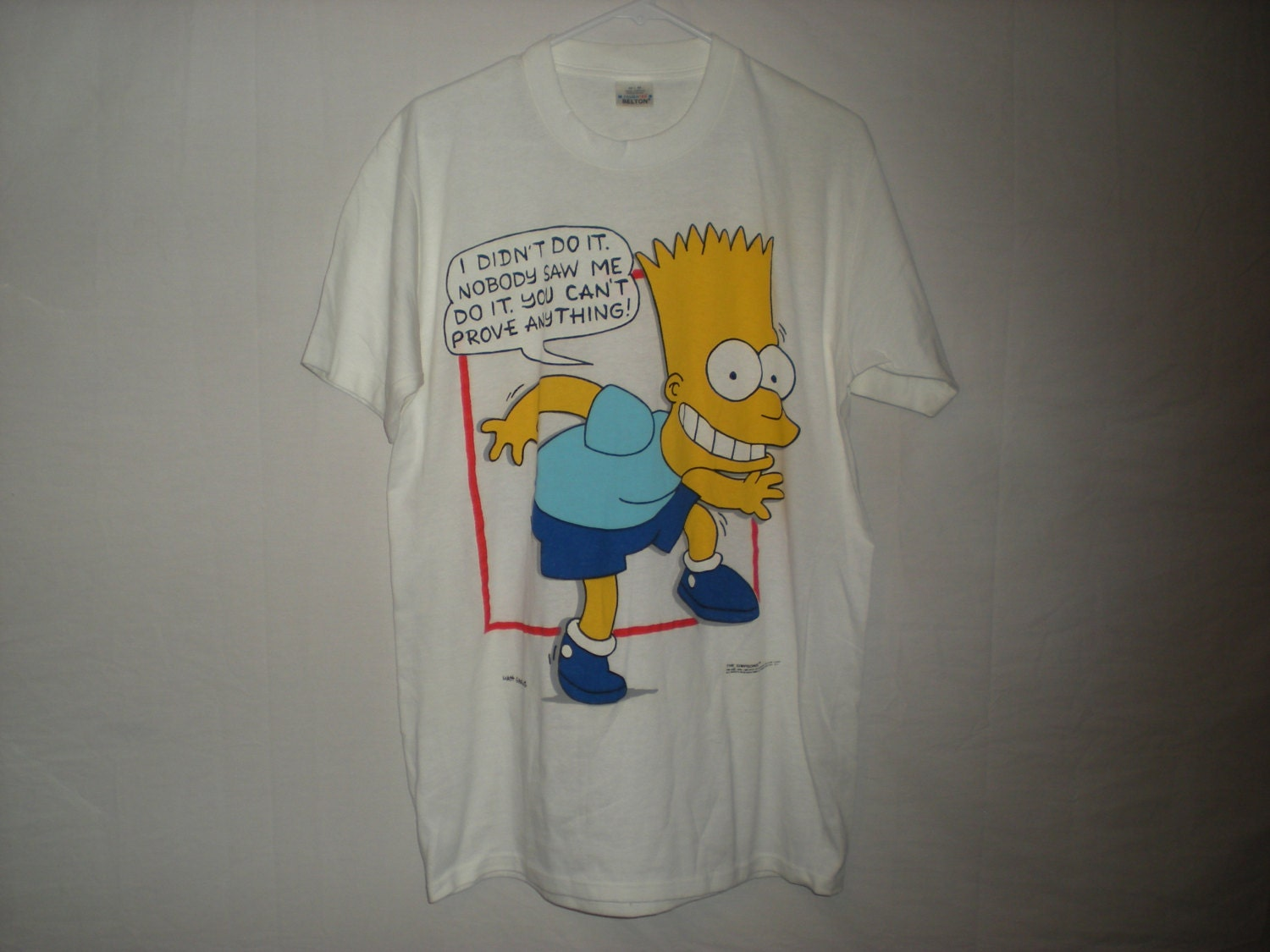 90s bart simpson shirt