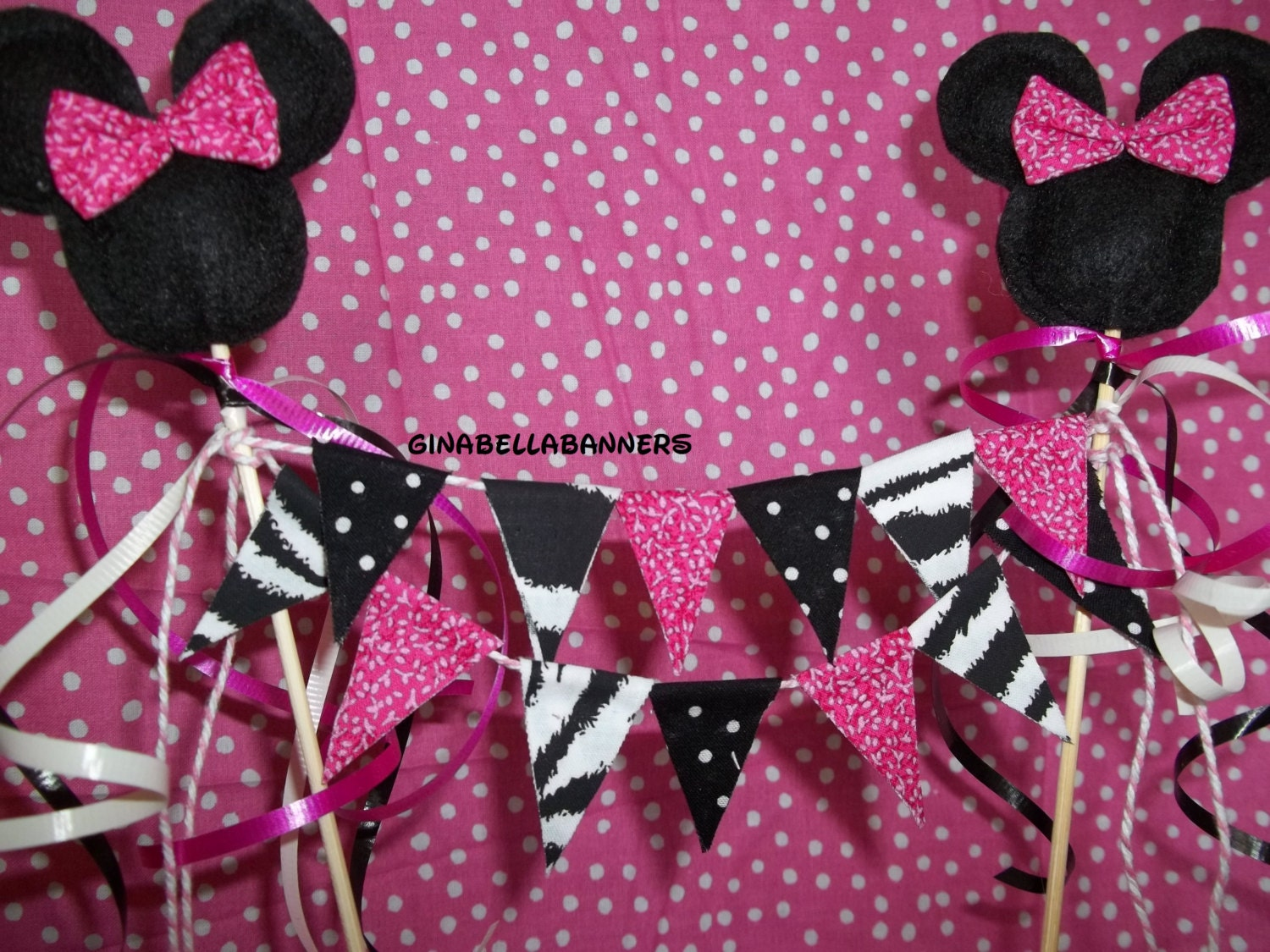 Minnie Mouse Mickey Cake Popular Items For Baby Shower Nursery On Etsy