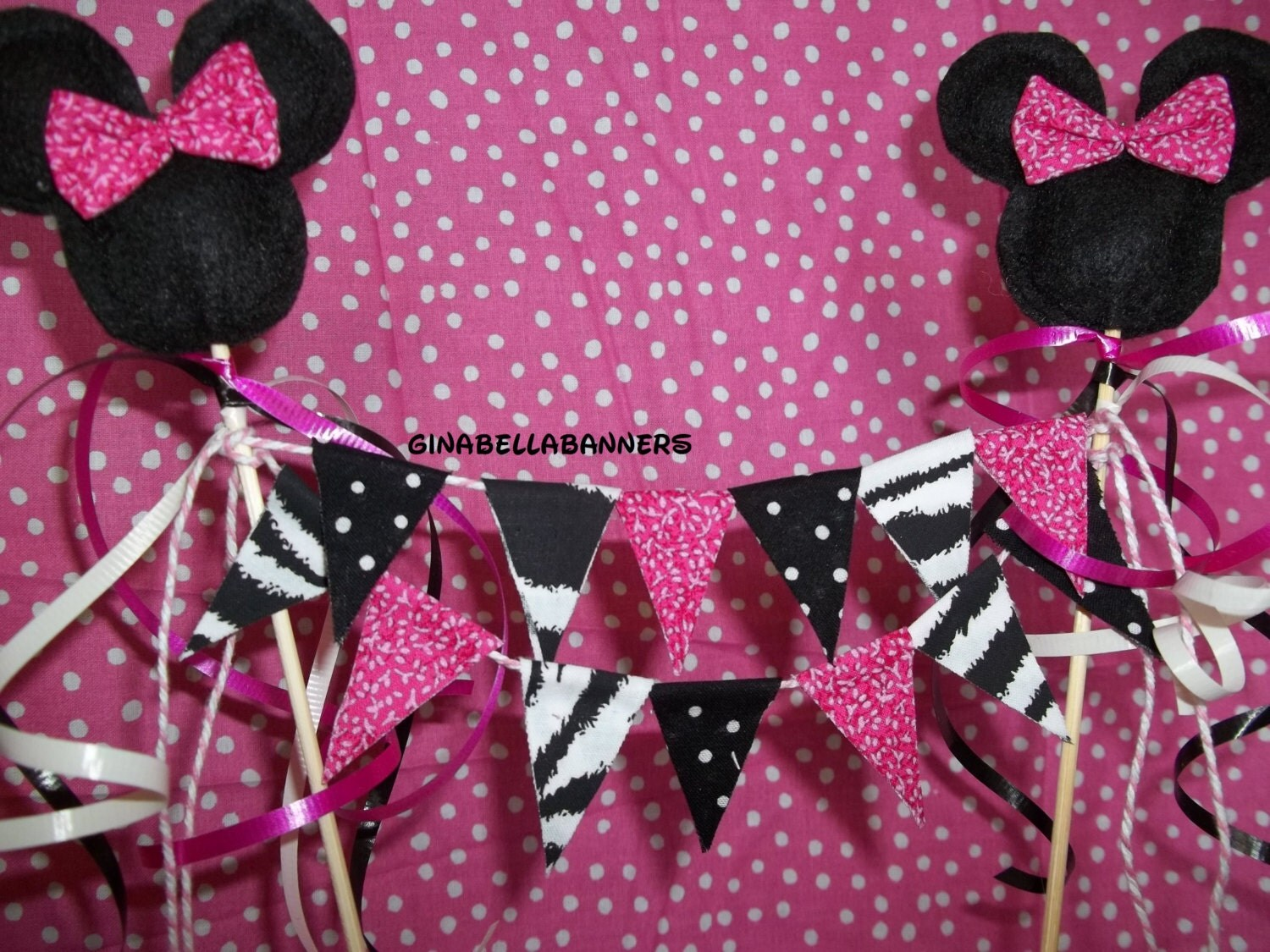 Mickey mouse baby shower decorations best baby decoration for Baby minnie decoration