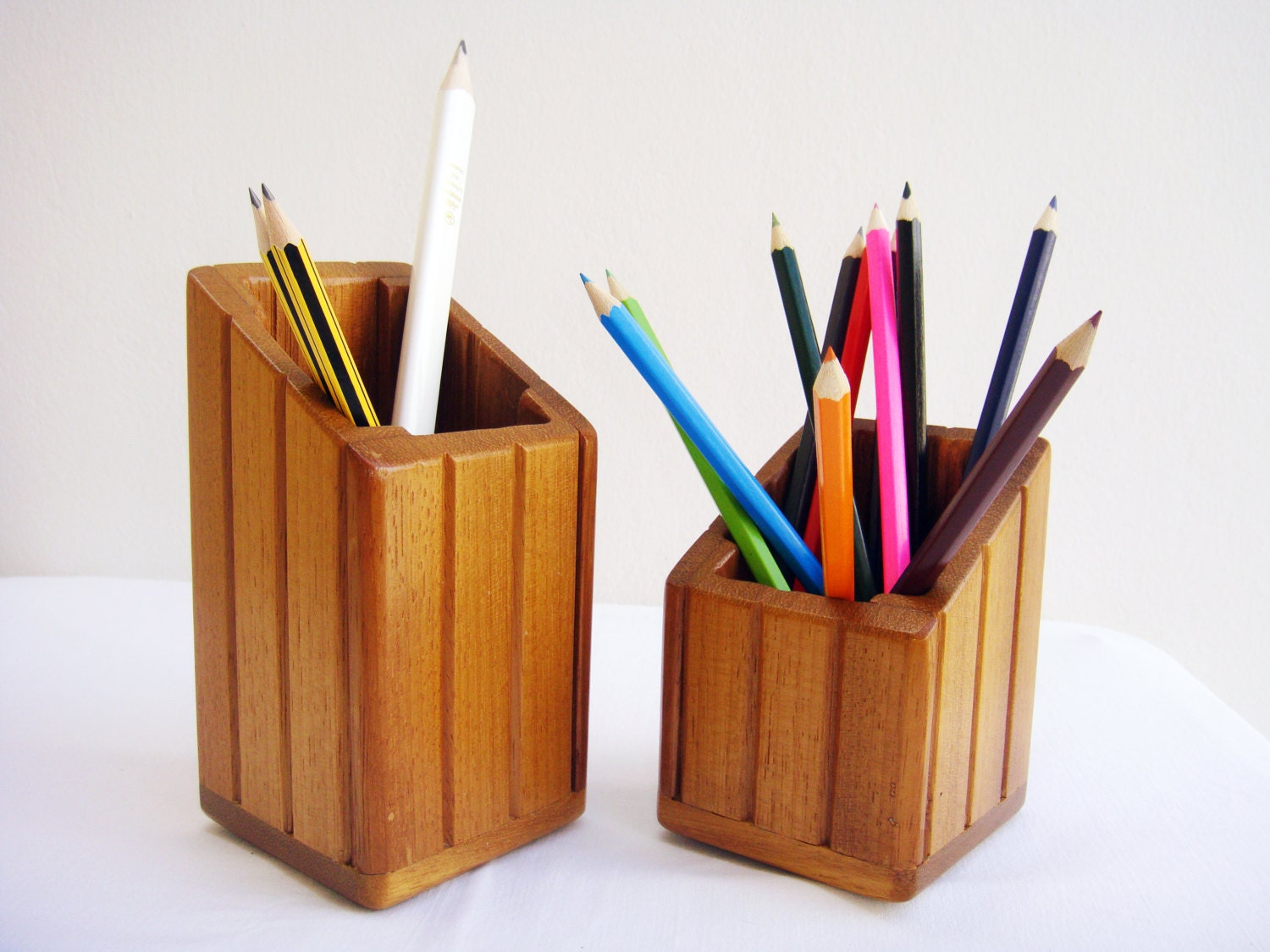 Pencil holder set of two desk organizer desk by - Desk organizer sets ...