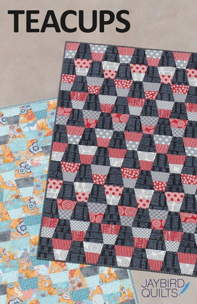 Radio Way quilt pattern from Jaybird Quilts by SweetPeaFabricsUT