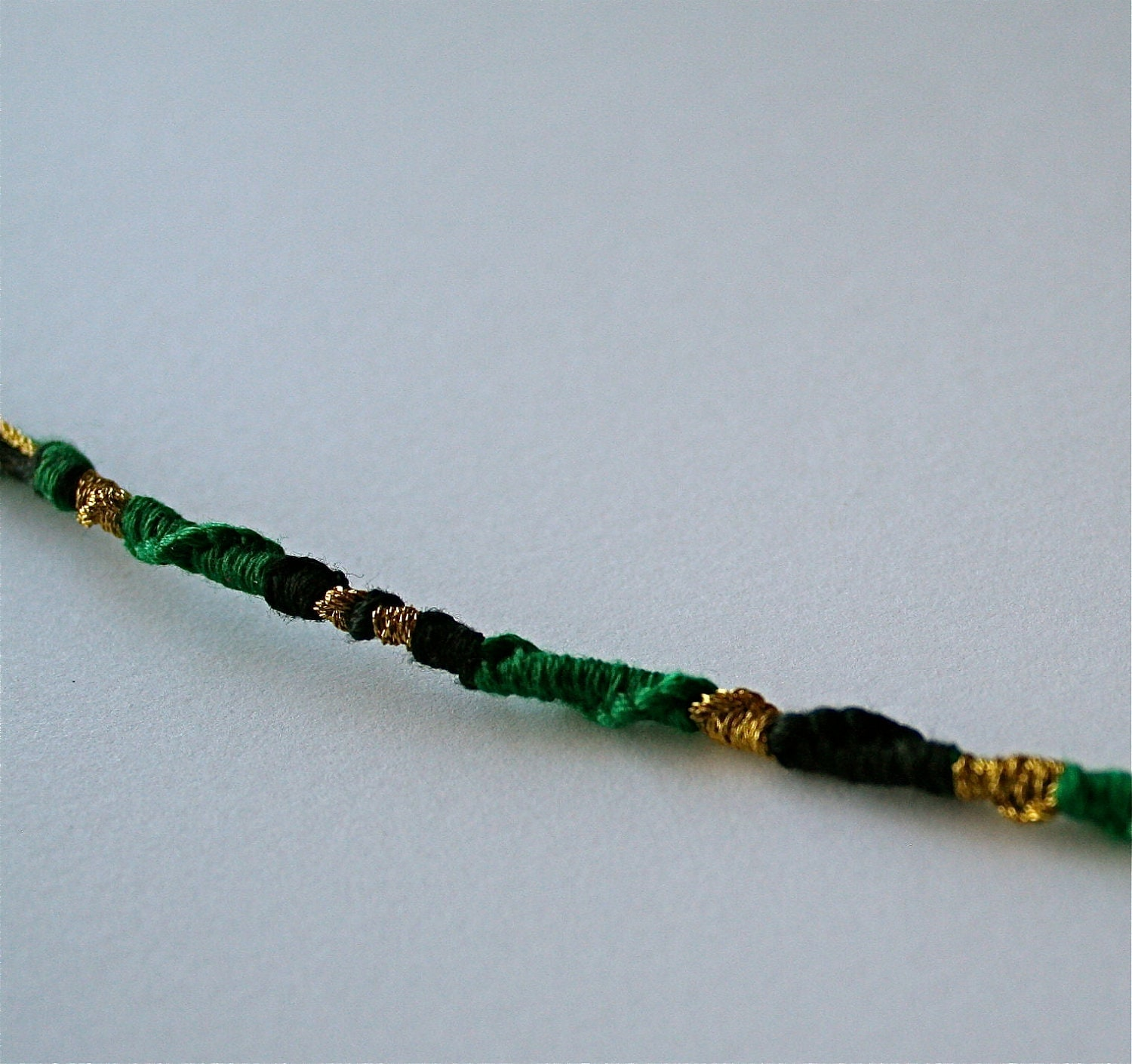 Items similar to Loki friendship bracelet - spiral pattern ...