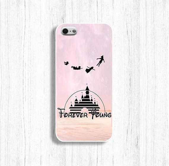 Disney phone case Forever Young case for iPhone 5/5S iPhone 4/4s