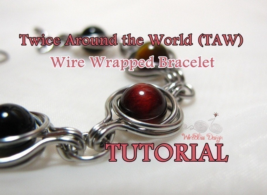 TAW Wire Wrapped Bracelet by WireBliss