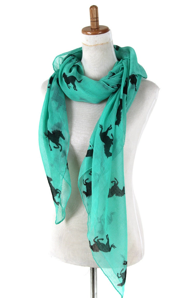 beautiful scarves unique animal by haringcollection