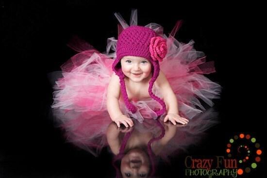 جدید -- رز ابی خاج کلاه با جدا تکان دهنده گل های صورتی روزت Totz Hatz -- رنگ انتخاب شما