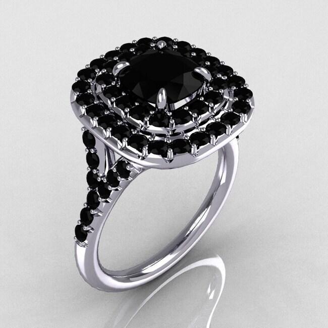 Exquisite Black Diamond Engagement Rings Black Diamond Engagement Rings