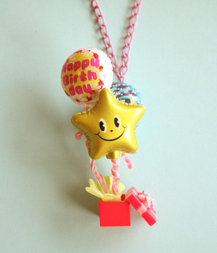 Birthday surprise necklace