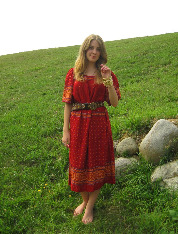 Ethnic Hippie Dress