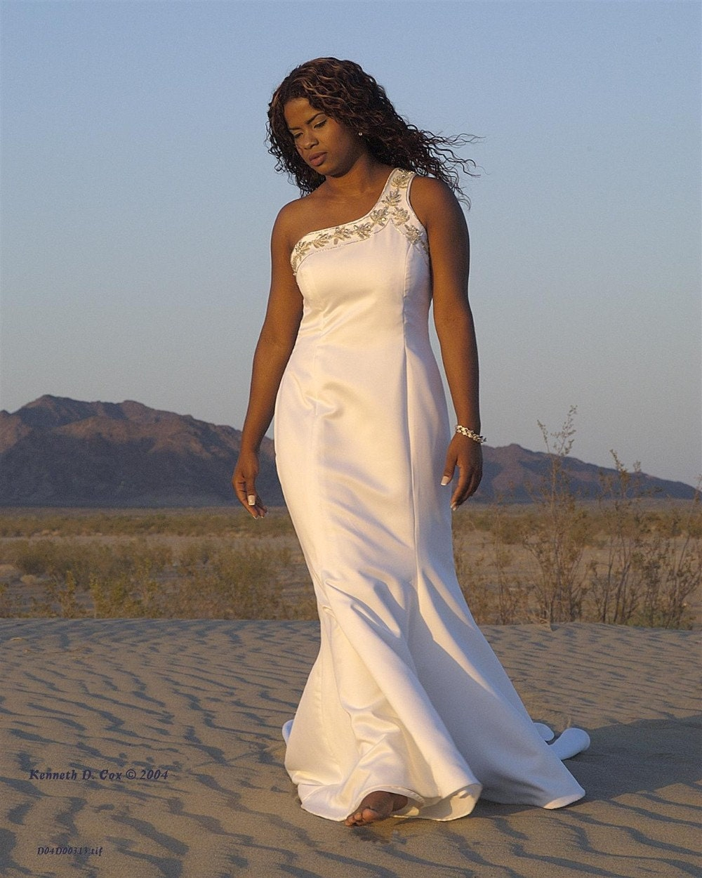 Wedding Dress - Calypso - Custom Made-to-Order