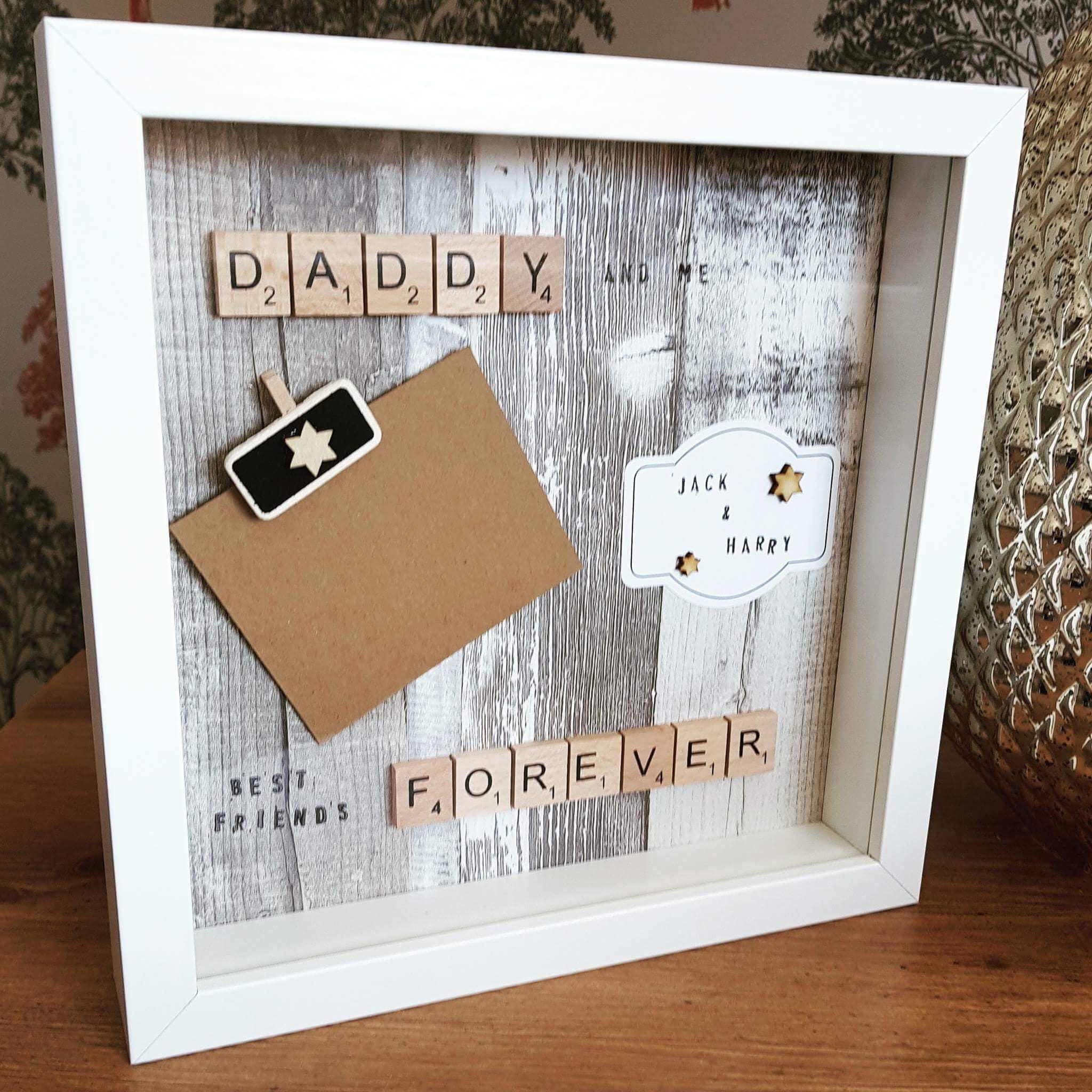 Fathers Day  Quirky Personalised Scrabble Gifts