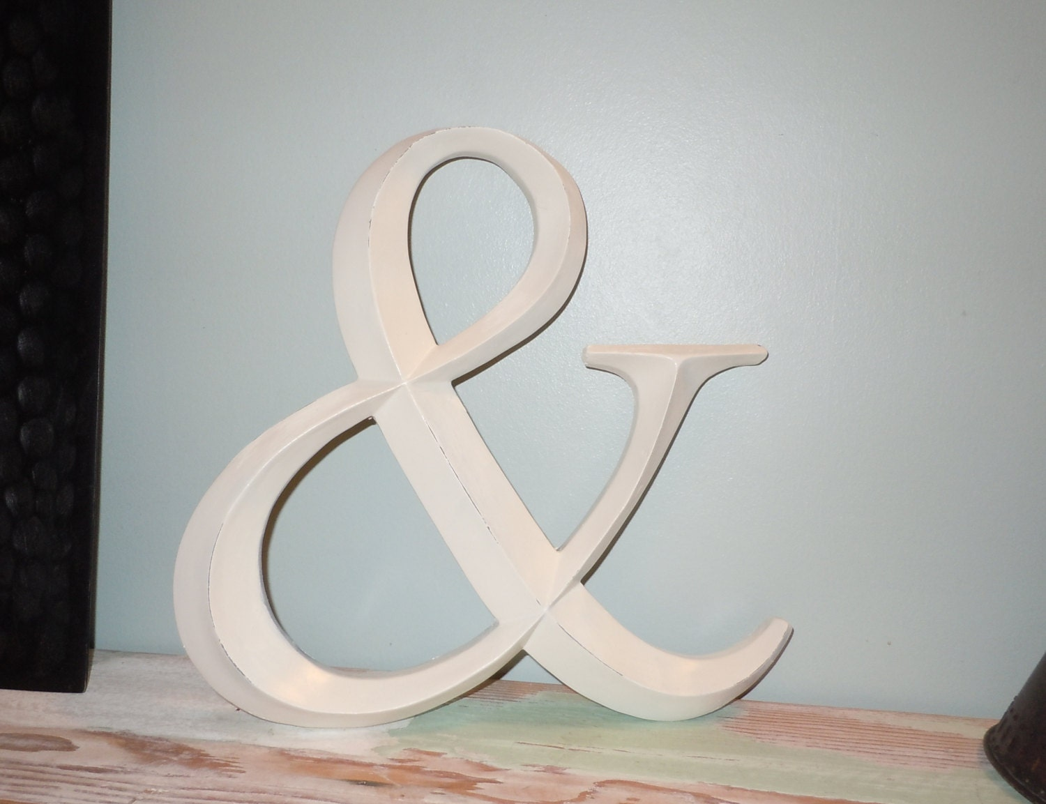 Ampersand wall decor wedding decor symbol by for Ampersand decor