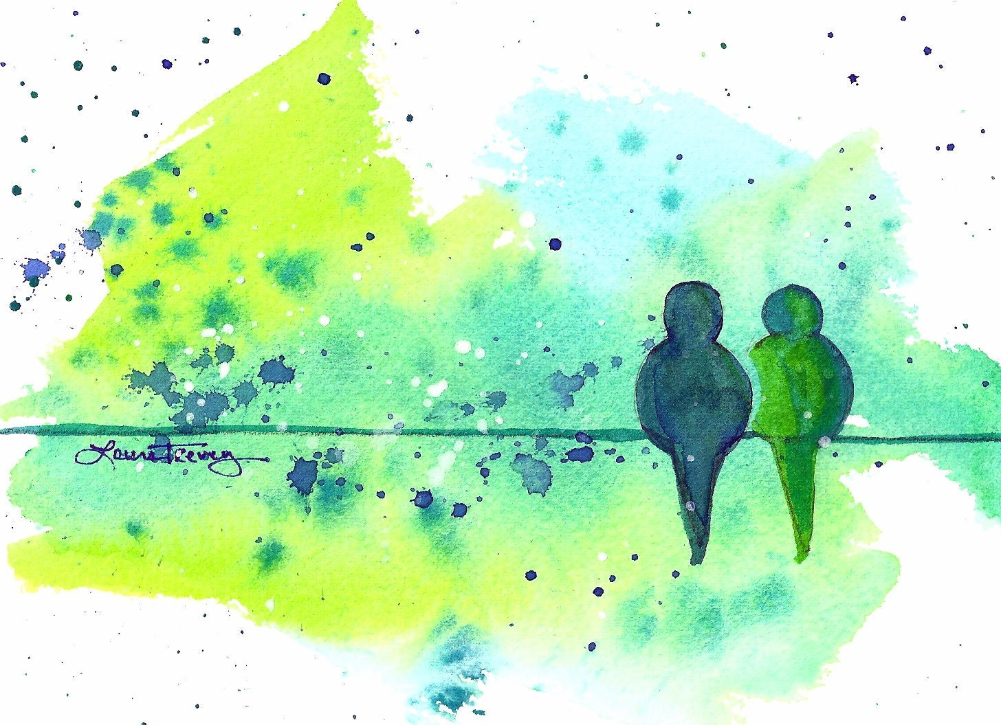 Easy watercolor painting ideas for Watercolor ideas easy