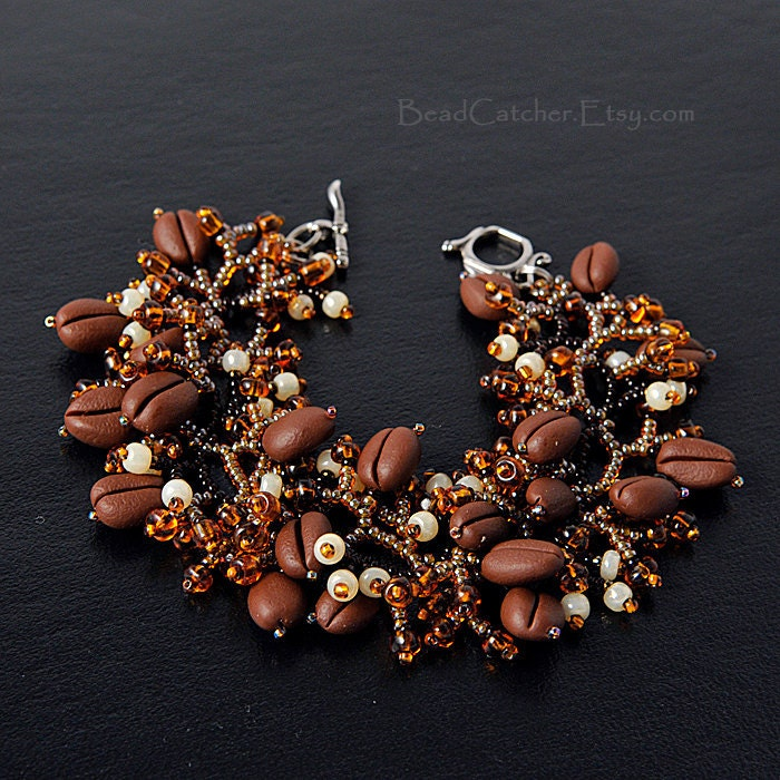 Coffee time bracelet - BeadCatcher