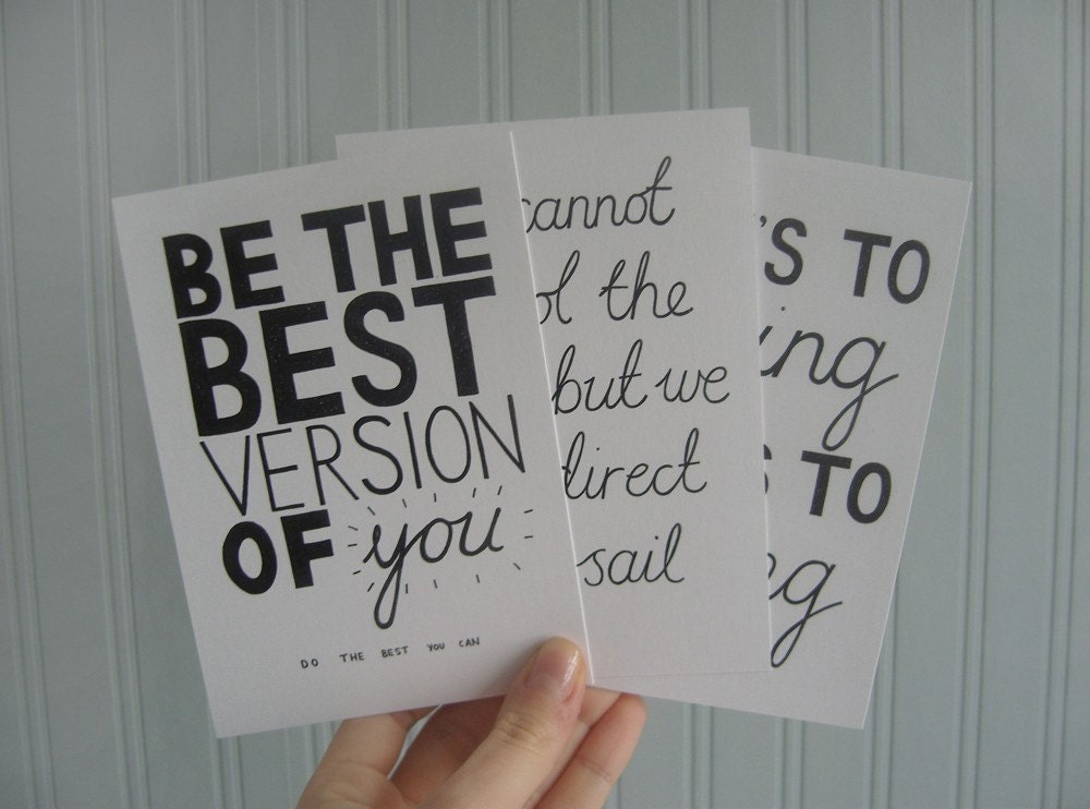 motivation note cards