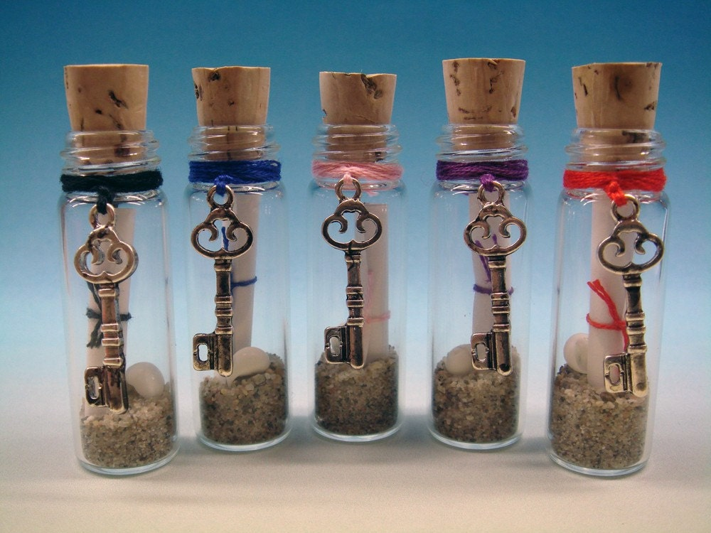 Scroll Key - Message in a Bottle