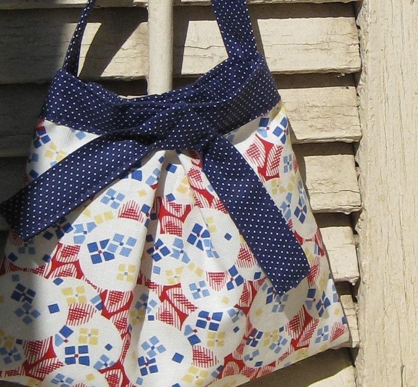 vintage inspired little girl purse