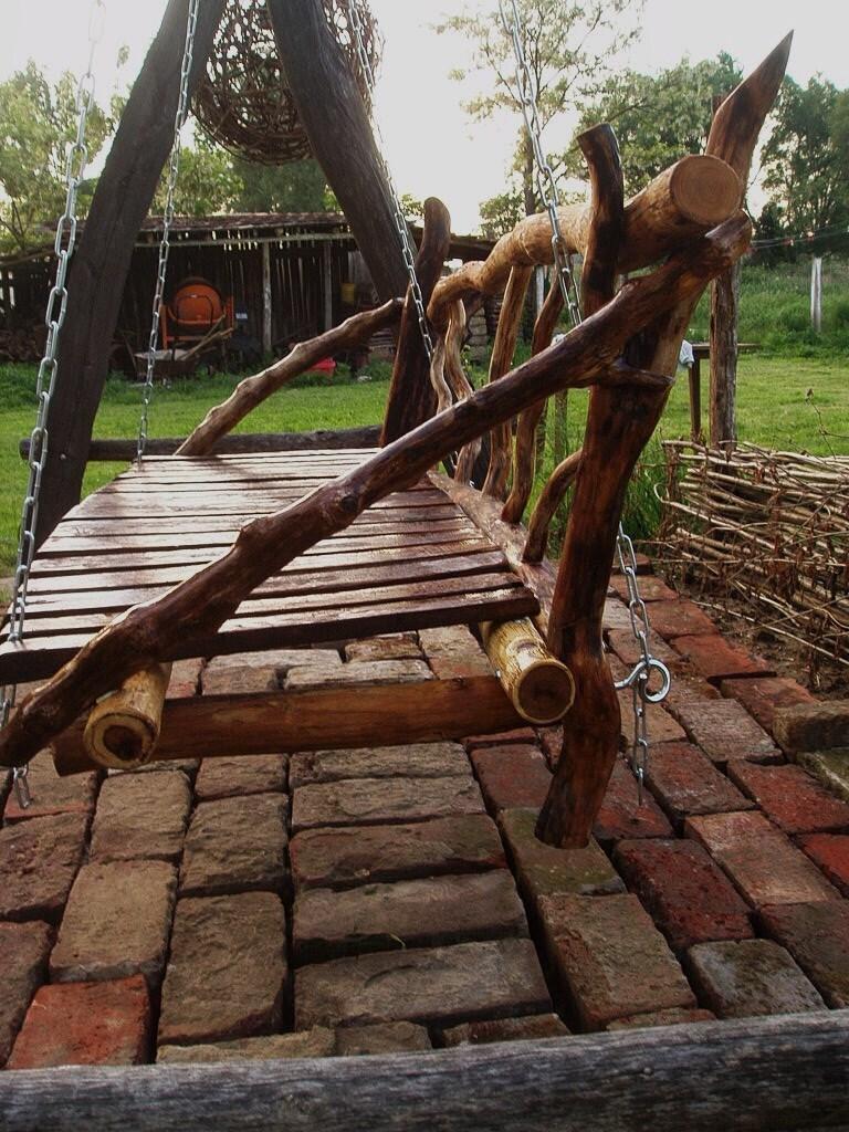 дървена люлка