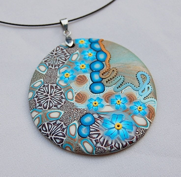 New Collection - Polymer clay Pendant