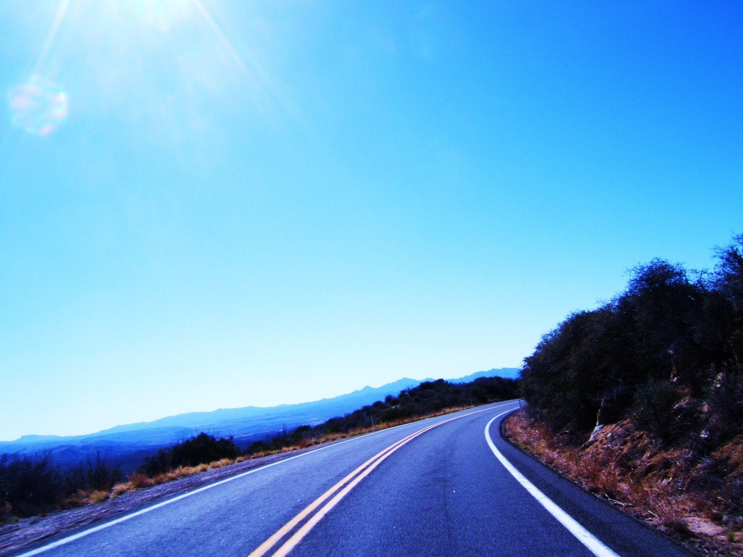 Fine Art Photograph - Skull Valley Road