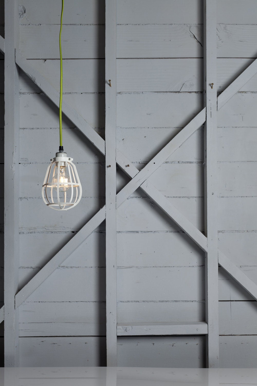 Industrial Lighting - Modern Cage Light - Swag Pendant - IndLights