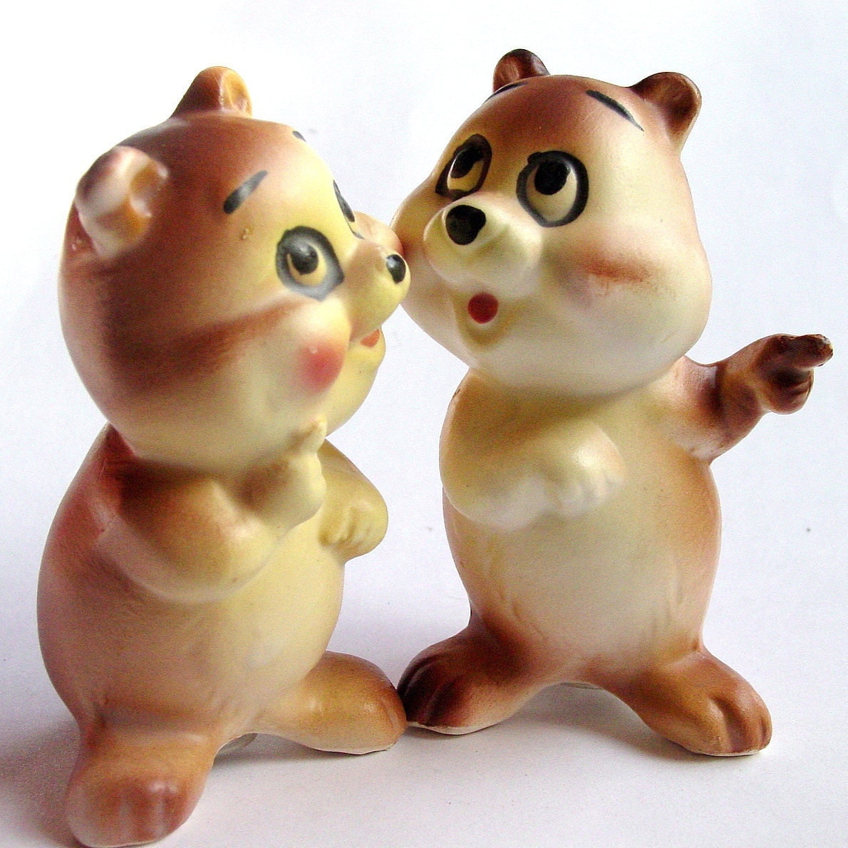 Items Similar To Cute Bears Lefton Salt And Pepper Shakers