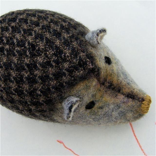 Wee Hedgehog - Houndstooth