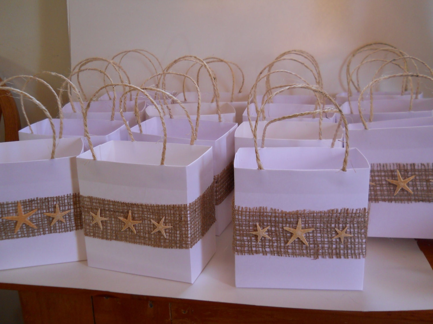 Beach Bag Wedding Favor Ideas : 30 Beach bridal party favor bags reserved for Kate by steppnout