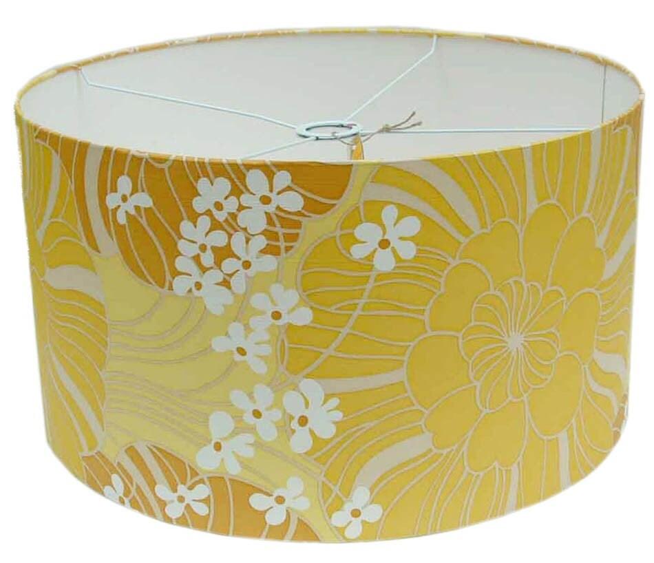 Liberty vintage wallpaper lamp-shade