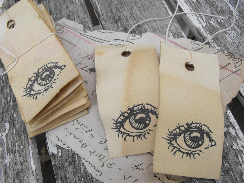 15 Eye Hang Tags