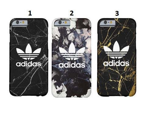 Black white adidas iPHONE CASE adidas iphone 7 adidas 7 plus iphone 4s 5 5C 5s 6 adidas 6s 6 plus adidas samsung adidas samsung case