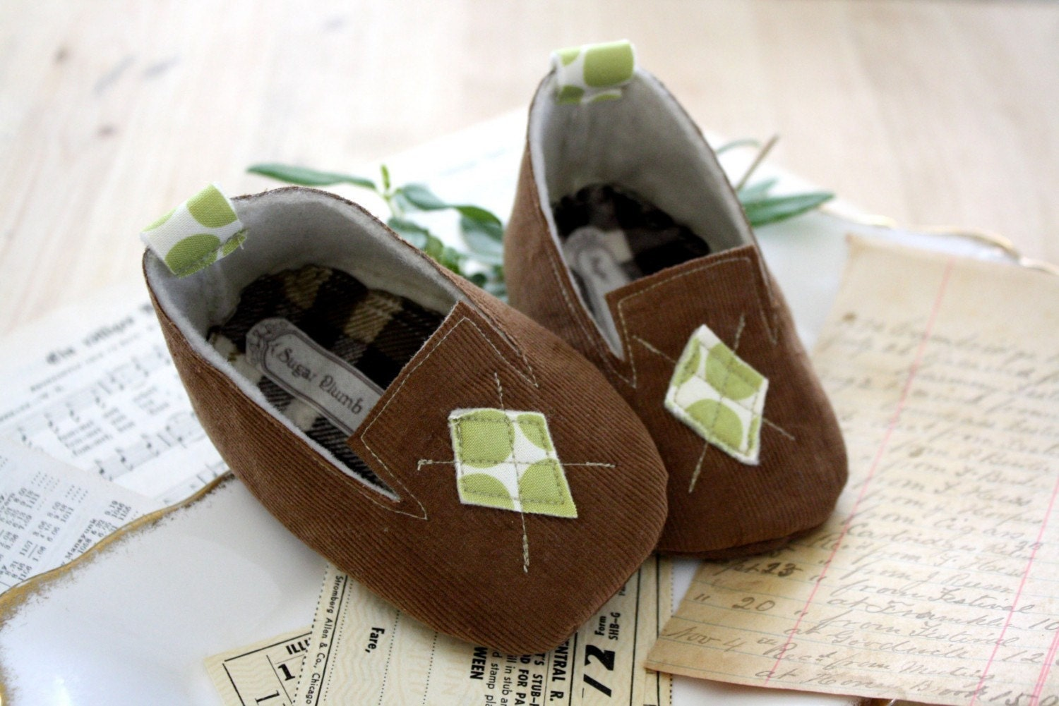 The Hunter baby shoe/bootie/slippers/loafers