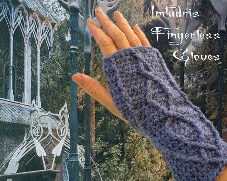 Imladris Fingerless Gloves (pattern)