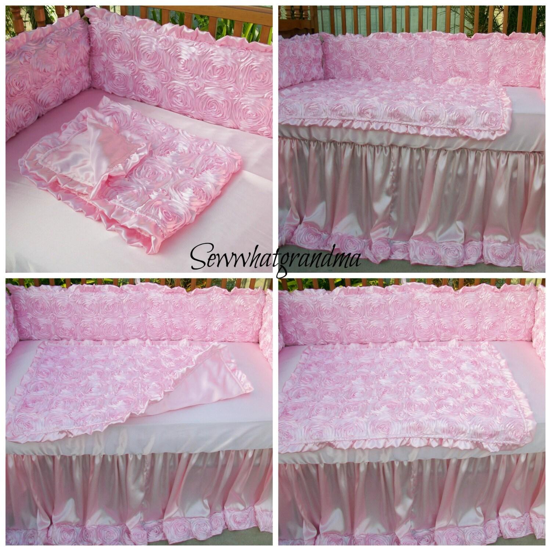 Items Similar To Plush Luxury Crib Bedding Set