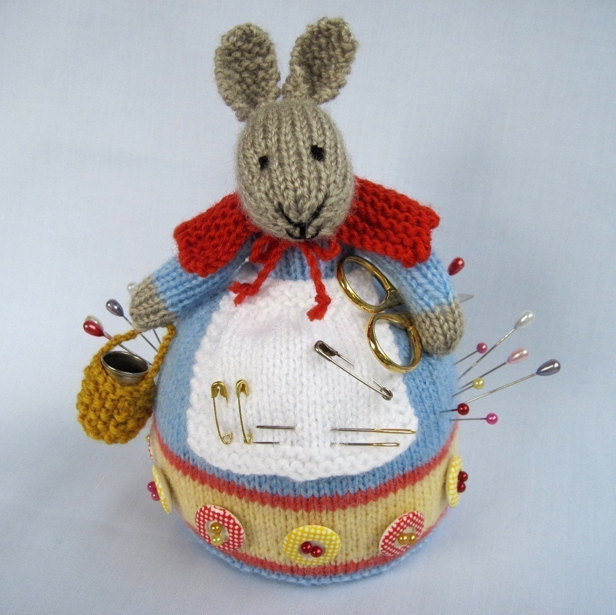 ROWENA خرگوش -- دوخت همراه -- ایمیل اف بافندگی الگوی