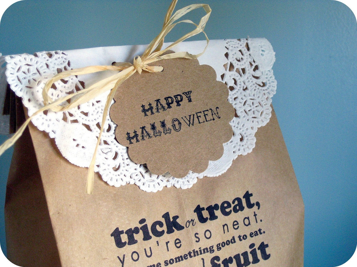 Halloween treat bags kit-20