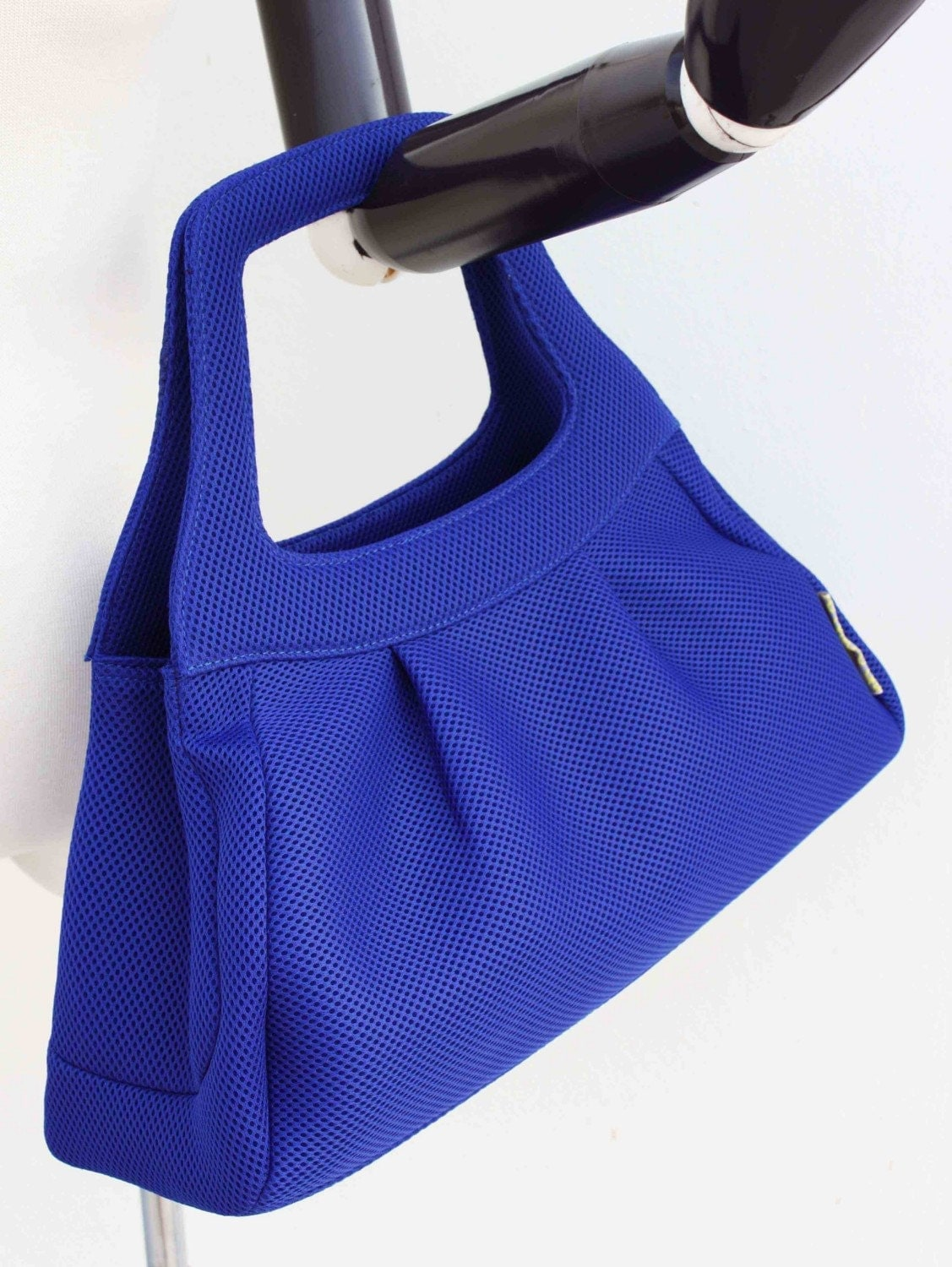 Quote Street couture Baby carseat bag-- electric Blue