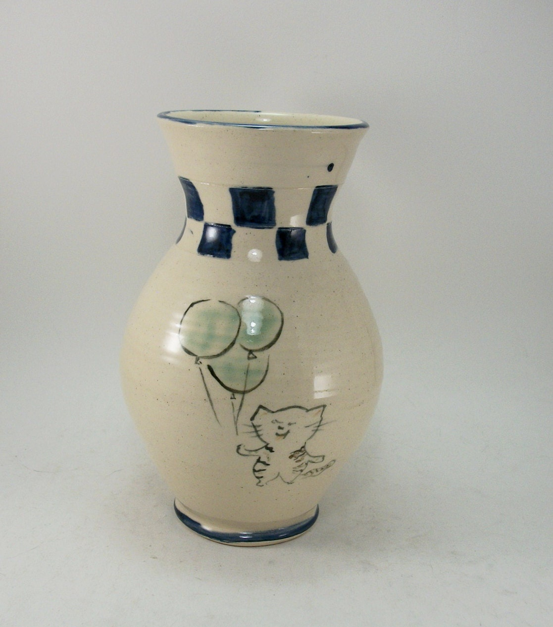 fun dog and cat vase