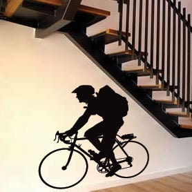 Cycling Bicycle Children Sports Kids Art Wall Stickers  Wall Decals from AmazingSticker
