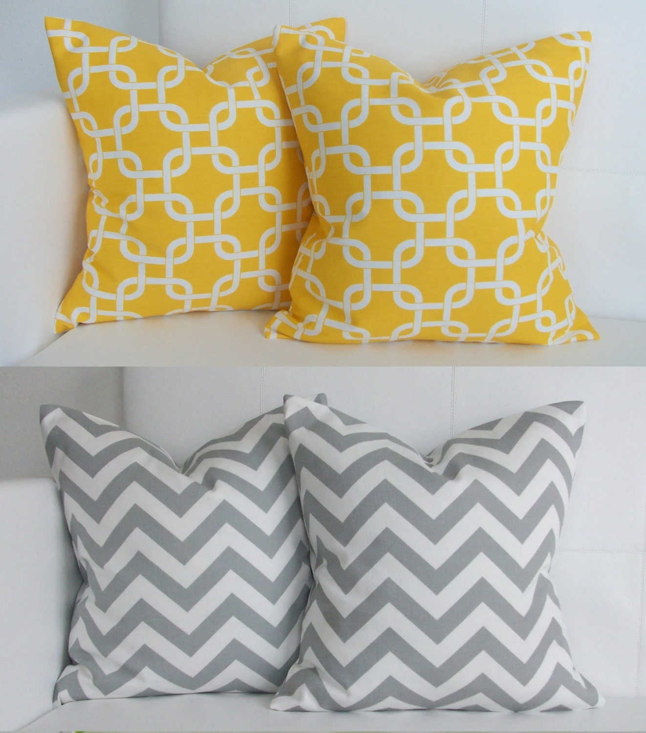 Yellow Decorative Pillows Kids Art Decorating Ideas