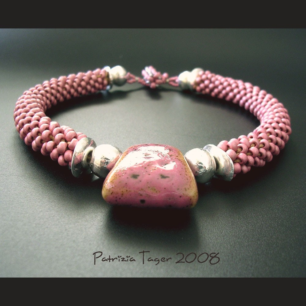 Pretty in Pink Crochet Choker - BAO Item of the Week
