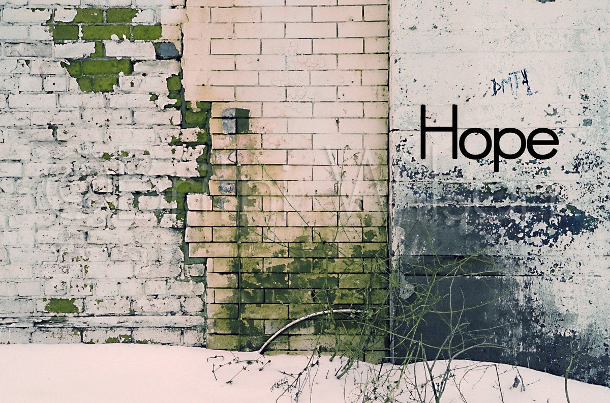 Hope for Detroit. 8x12 Fine Art Print - InspireSomebodyLLC