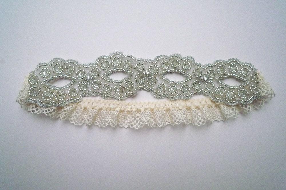 Goddess beaded garter