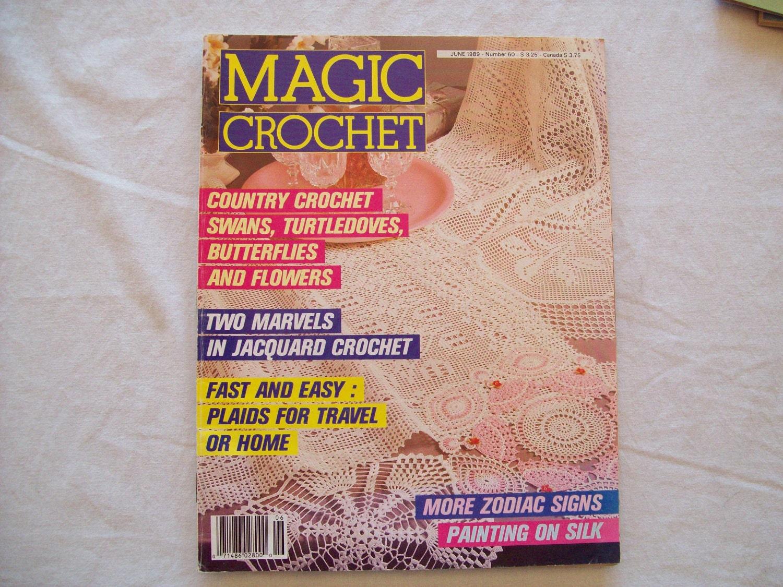 similar to Magic Crochet Magazine, June 1989 issue 60 Vintage Crochet ...