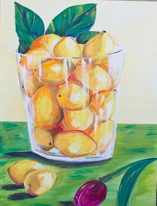 Fresh Citrus (Lemons) - Print