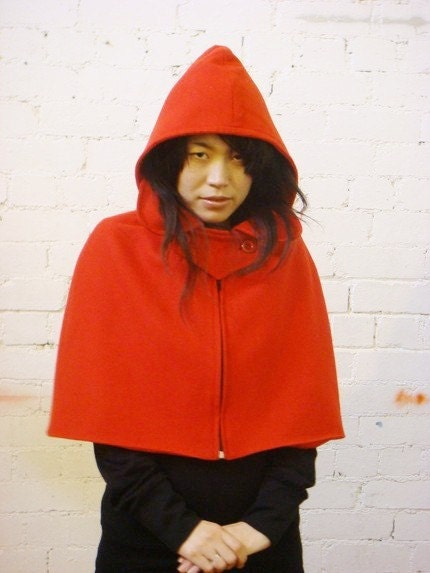Little Red Riding Hood Cape ---------- BESTSELLER AND UNIQUE TO OUR LABEL