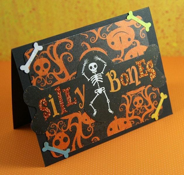 Silly Bones Skeleton Greeting Card