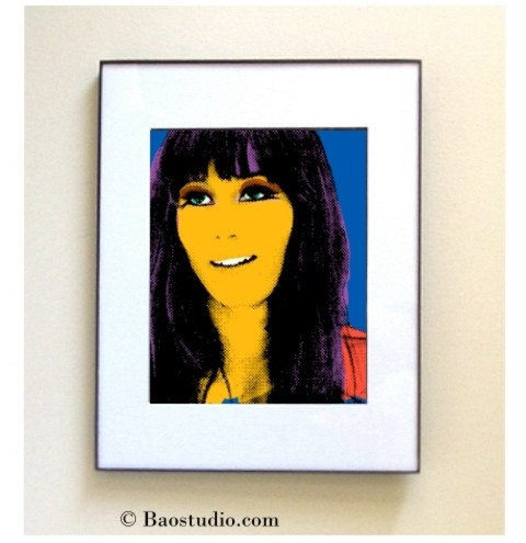 Cher Pop Art